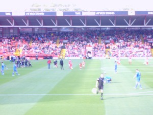 Ashton Gate Prior to Kick Off
