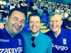 Will Phil and Bazza - Blues v Reading 08-08-2015